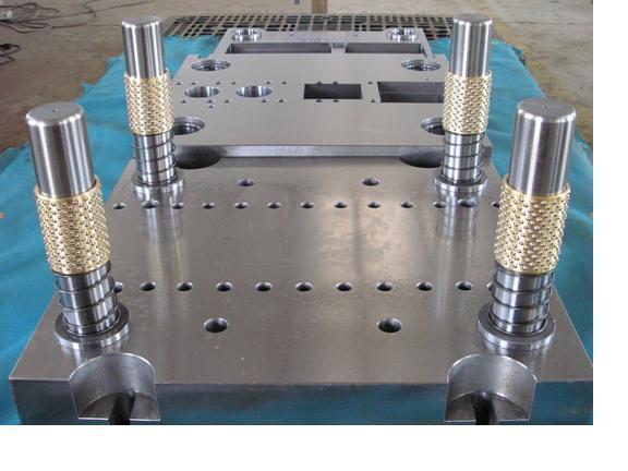 数控龙门加工中心加工--模架模具案例